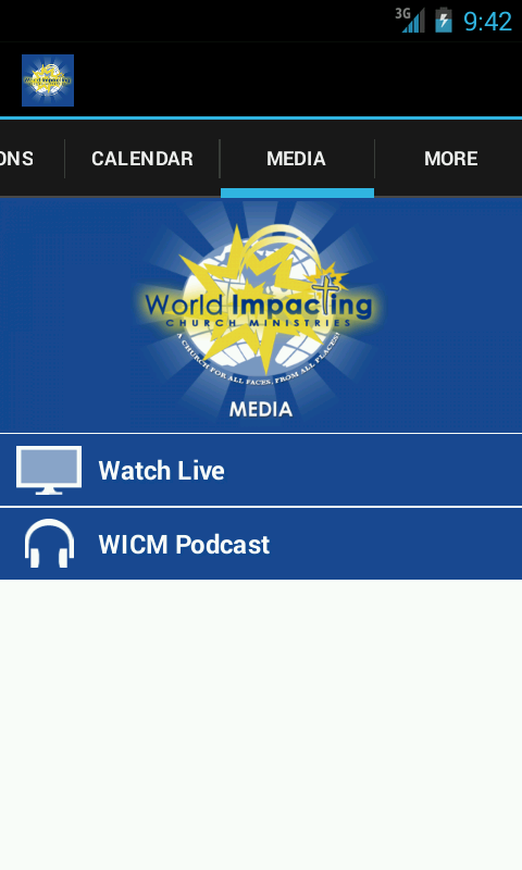 WICM Mobile - screenshot