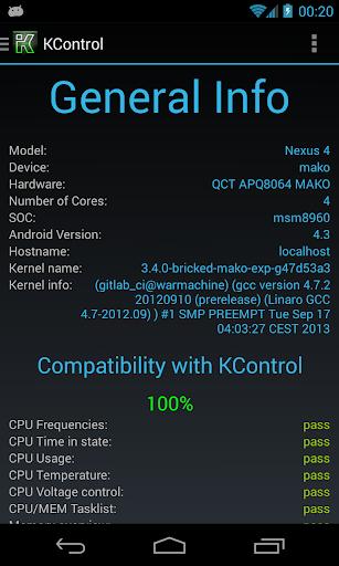 KControl - Full Kernel Control