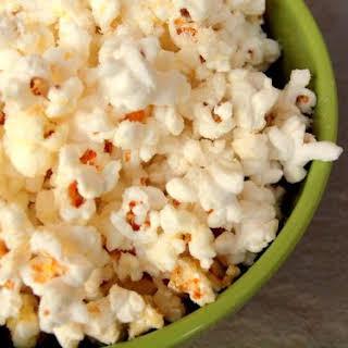 Parmesan Buttered Popcorn.