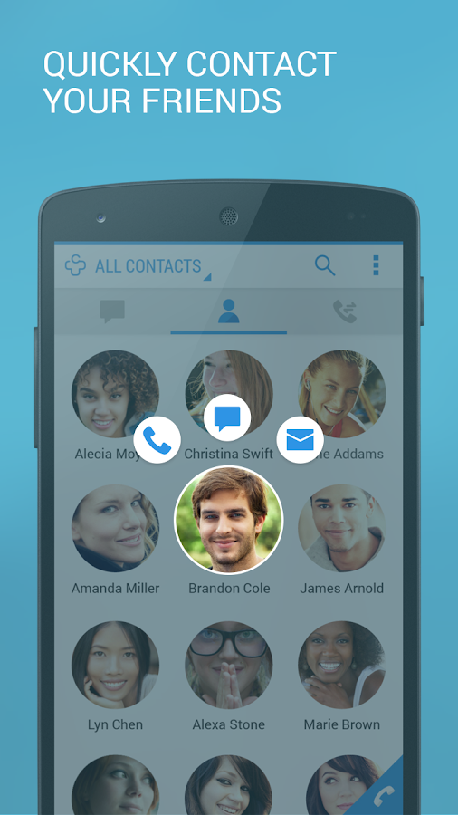 Contacts+ - screenshot