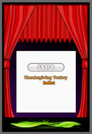 Thanksgiving Turkey Ballet