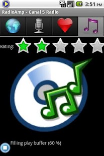 RadioAmp Internet Radio Player- screenshot thumbnail