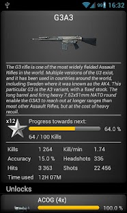 BF3 Stats Premium- screenshot thumbnail