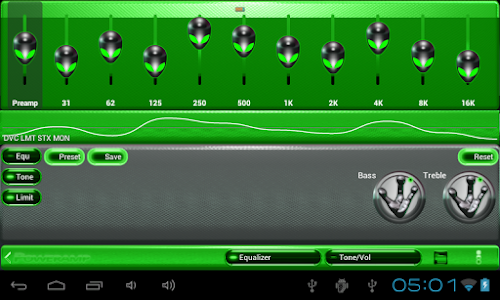 poweramp skin alien green v1.31