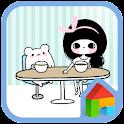 봉자 카페 도돌런처 테마 icon