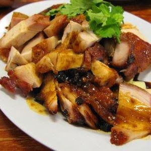 Char siew,roasted pork and roasted chicken @ Hong Kee