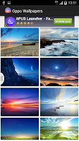 Screenshot of Wallpapers for Oppo