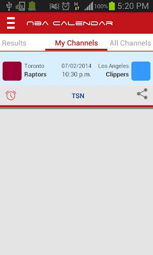 NBA Calendar