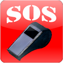 SOS Whistle logo