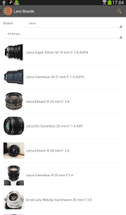 All Photo Lenses- screenshot thumbnail