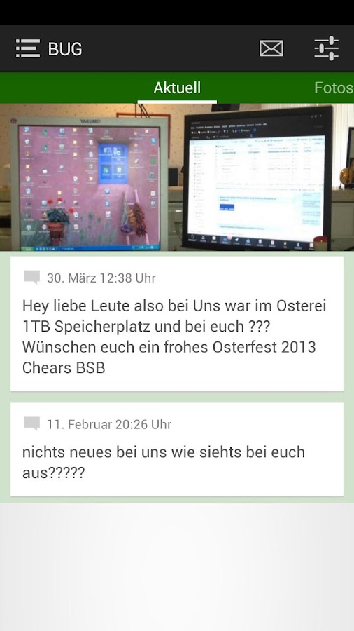 Büro-Service-Burg - screenshot