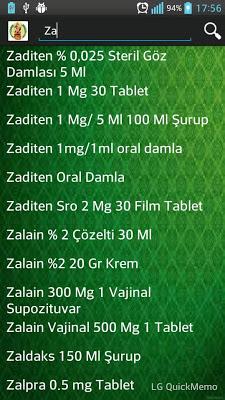 İlaç Prospektüsleri - screenshot