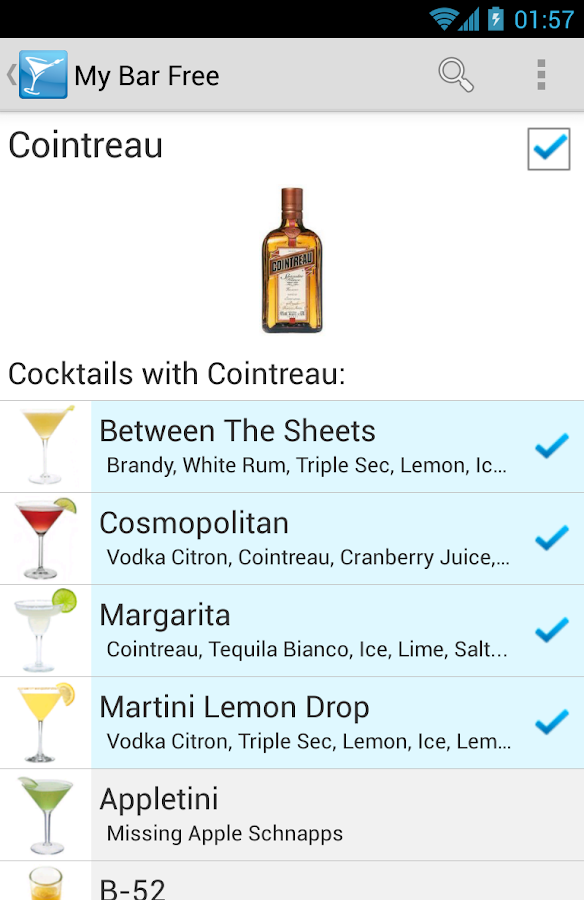 My Cocktail Bar - screenshot