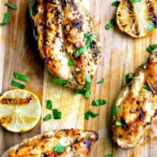 Grilled Lemon Dijon Chicken
