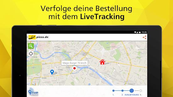 pizza.de - order food online - screenshot thumbnail
