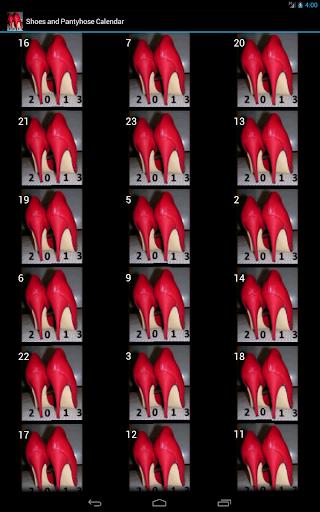 【免費娛樂App】Shoes& Pantyhose Calendar 2013-APP點子