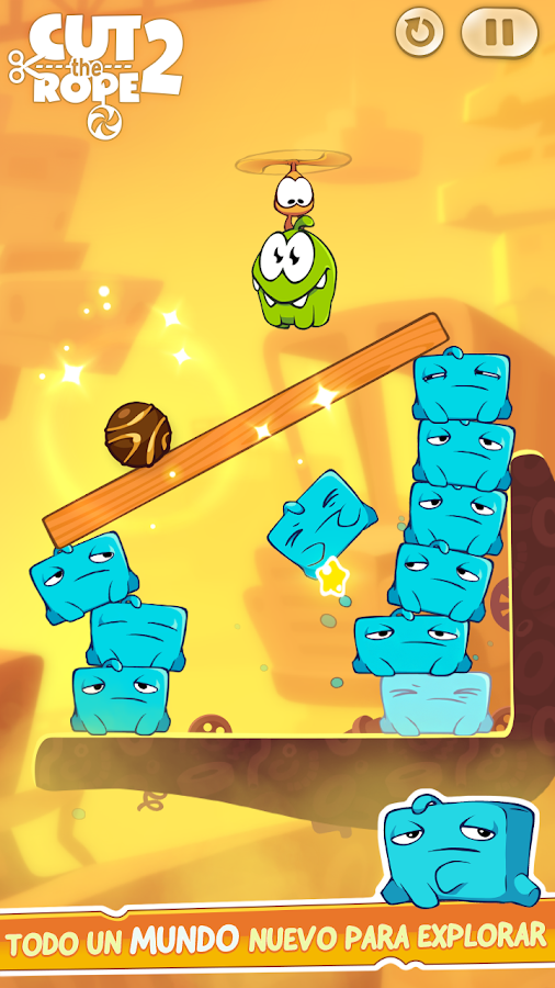 Cut the Rope 2: captura de pantalla