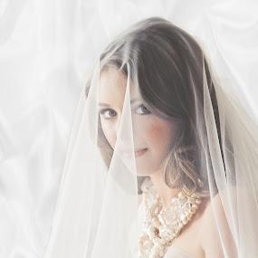 Taila by Alan Evans - Wedding Bride ( wedding day, wedding, aj photography, wedding jewellery, beautiful bride, veil, bride,  )