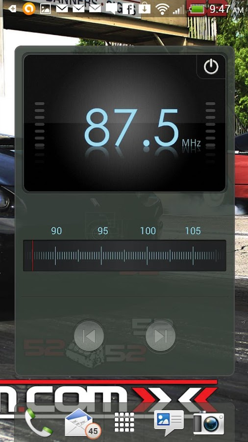 Turbo LSX Camaro LiveWallpaper - screenshot