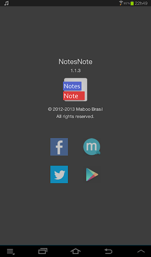 NotesNote List of Notes