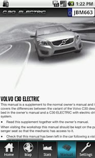 Volvo C30 Electric - screenshot thumbnail
