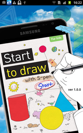 [S-Pen] Start drawing for Kids