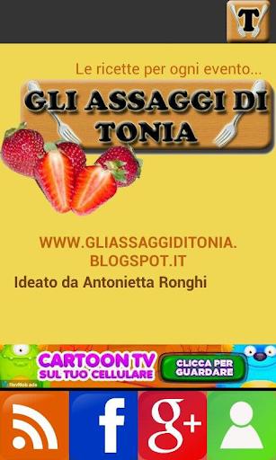 Gli assaggi di Tonia