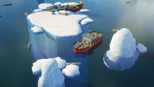 【免費賽車遊戲App】Icebreaker Boat Parking Game-APP點子