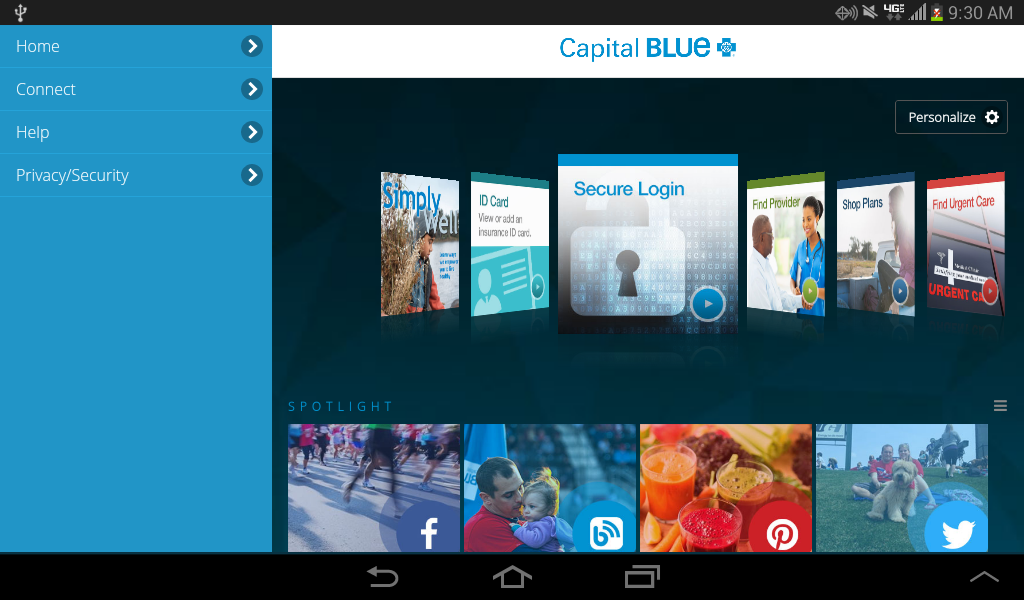 Capital Blue- screenshot