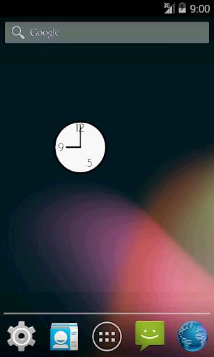 9時-17時 時計