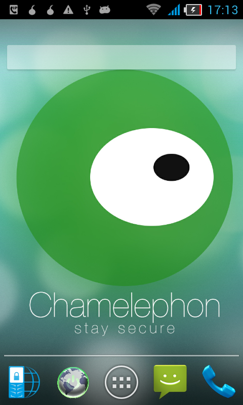 Chamelephon: captura de pantalla