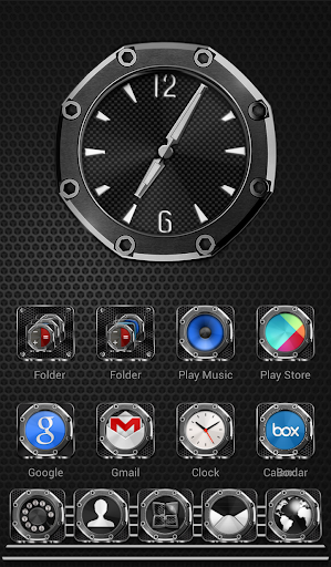 Next Launcher Theme Precision