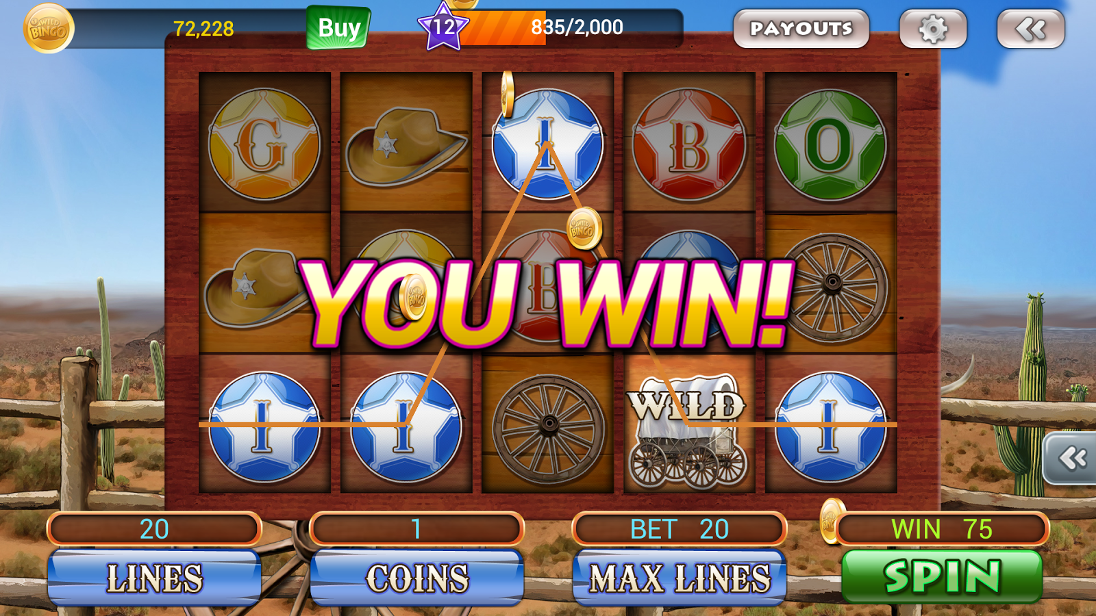 Wild Bingo - FREE Bingo+Slots - screenshot