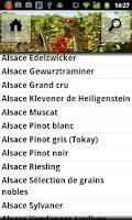 Screenshot of Weinlexikon Frankreich