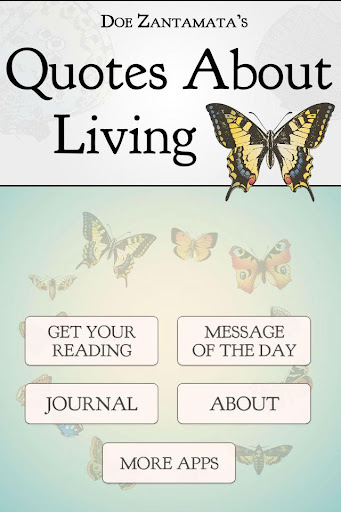 Quotes About Living Oracle