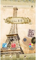 Screenshot of Eiffel Tower [+]HOME Theme