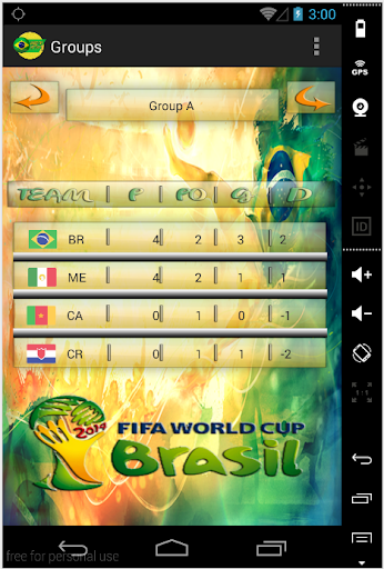 WC app 2014