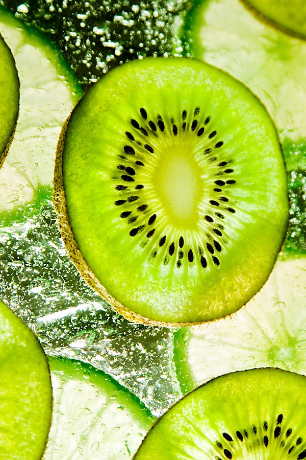 Kiwi and Limes by Rod Schrader - Food & Drink Fruits & Vegetables