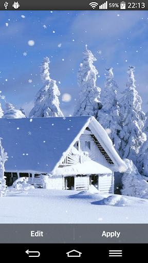 冬季動態壁紙