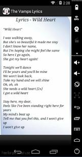 The Vamps Lyrics   FREE Android app market