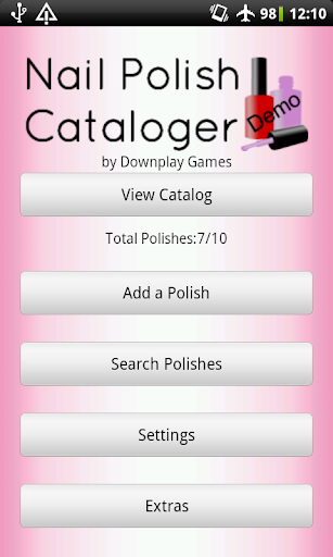 Nail Polish Cataloger Demo