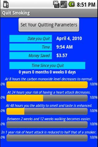 Quit Smoking- screenshot