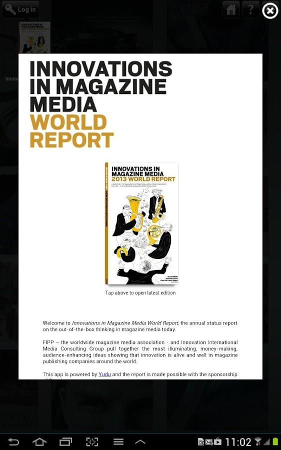 Innovations in Magazine Media- screenshot