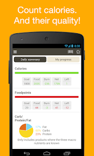 Fooducate Healthy Weight Loss - screenshot thumbnail