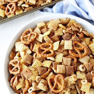 Brown Butter Chex Mix.
