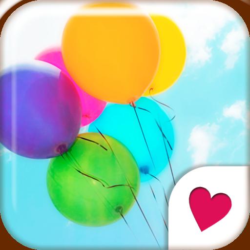 個人化必備App|可愛換裝桌布★Happy Balloon LOGO-綠色工廠好玩App