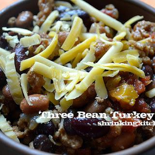 Three Bean Turkey Chili