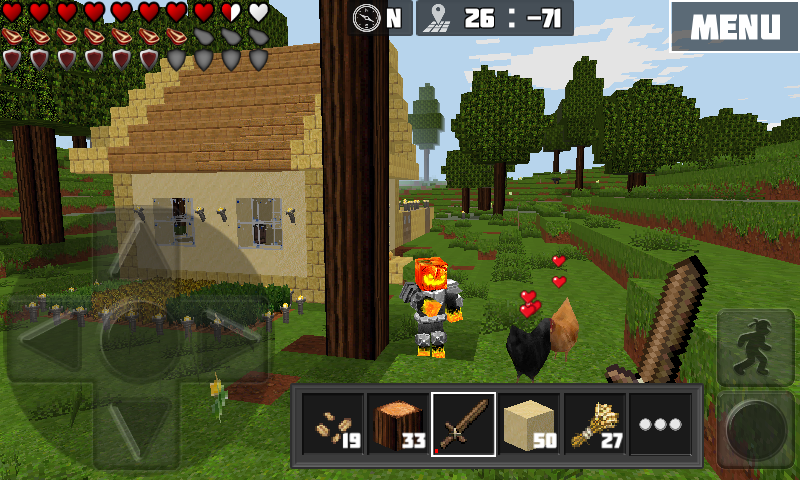 Worldcraft 3d build craft android apps on google play for Explore craft survival pe