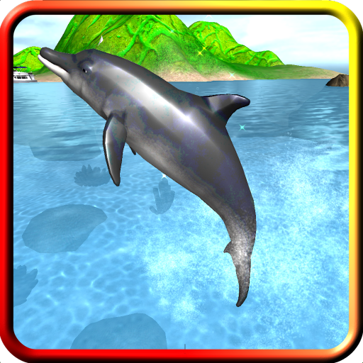 Dolphin Swim & Play Game