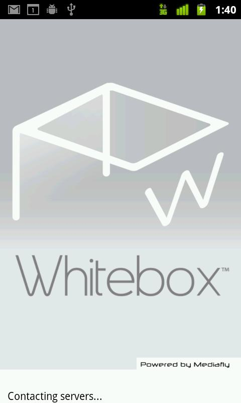 Whitebox- screenshot